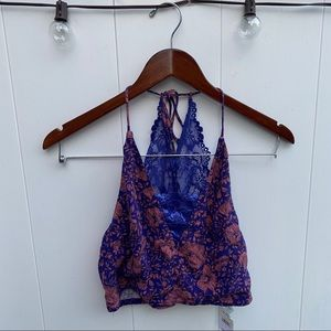 Free People Croptank with Adjustable Straps NWT